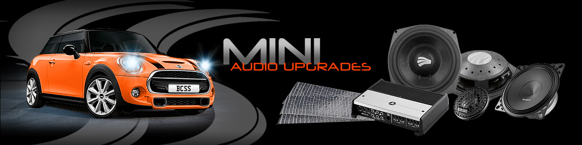 BCSS audio system upgrades for your MINI