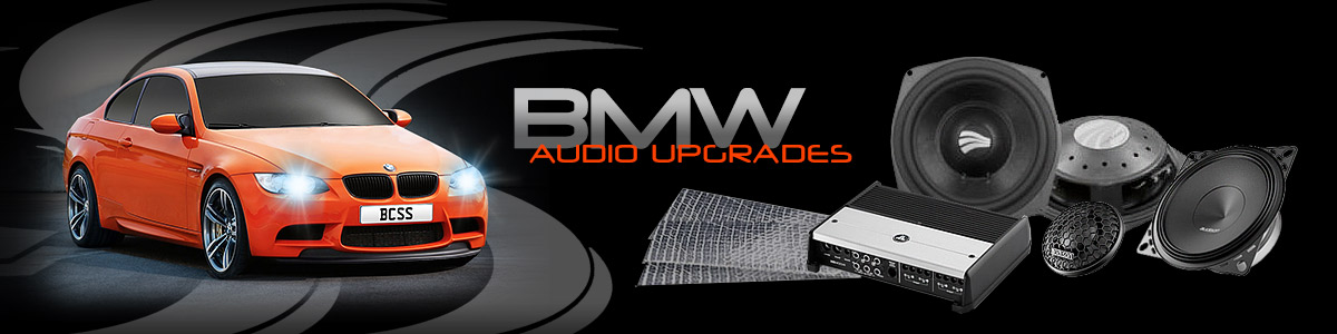 BCSS audio upgrades for your BMW
