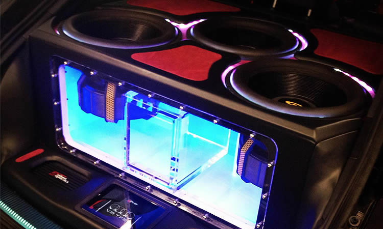 Superior custom car audio installations, Surrey, UK