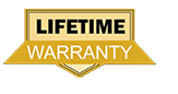 Lifetime warranty with this package