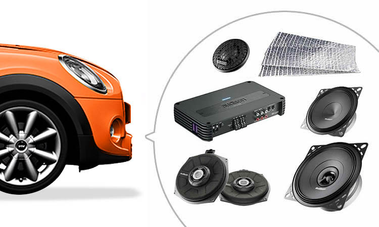 Audio upgrades for your mini london