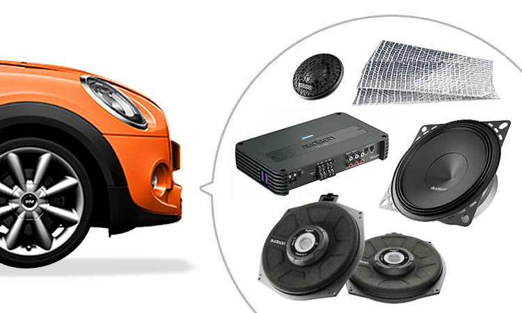 Our expert technicans can help install mini audio system upgrades
