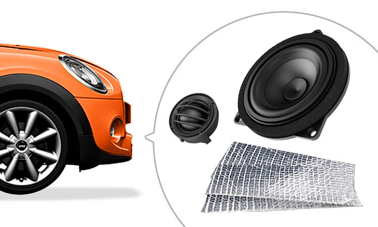 Supply & fitted audio system upgrades for your Mini Cooper, Clubman, Convertible, Countryman
