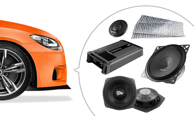 Professional bmw audio system upgrades